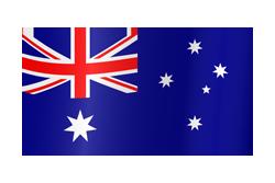Flag waving xs australia