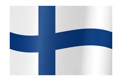 Flag waving xs finland