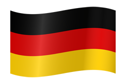 Flag waving xs germany