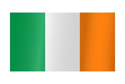 Flag waving xs ireland