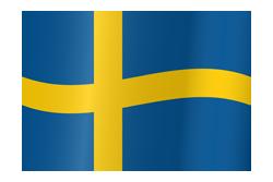 Flag waving xs sweden
