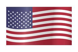 Flag waving xs usa